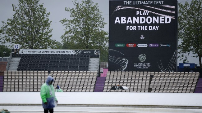 Rain washes out first day of World Test Championship final